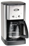 Black Friday Cuisinart DCC-1200 12-Cup Brew Central Coffeemaker, Black and Brushed Metal